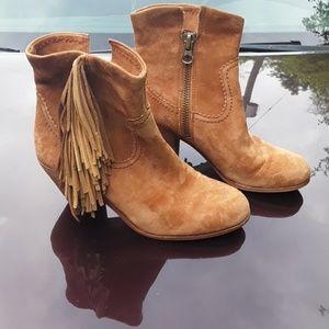 49ee1e0859580 Women's Fringe Ankle Boots & Booties | Poshmark